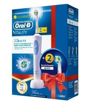 Szczoteczka elektryczna Oral-B Vitality 3D White 3 końcówki