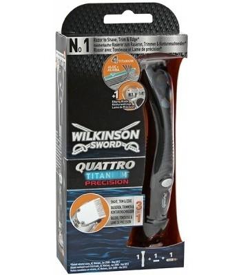 Maszynka Wilkinson Quattro Titanium Precision z 1 wkładem