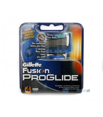 Gillette Fusion Proglide wkłady 4 sztuki w opakowaniu