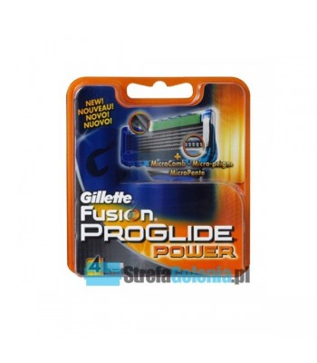 Gillette Fusion Proglide Power wkłady 4 sztuki
