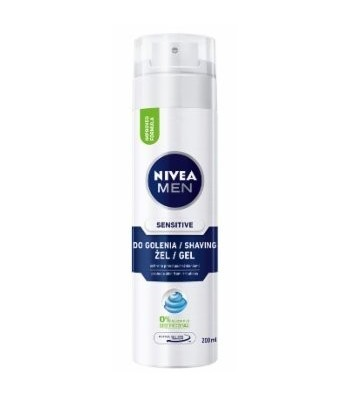 NIVEA FOR MEN Łagodzący Żel do golenia SENSITIVE 200ml