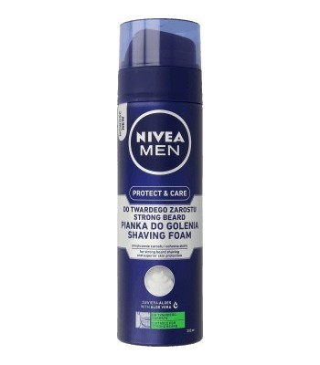 NIVEA FOR MEN Pianka do golenia twardego zarostu 200ml