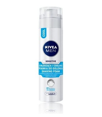 NIVEA FOR MEN Pianka do golenia COOL KICK 200ml