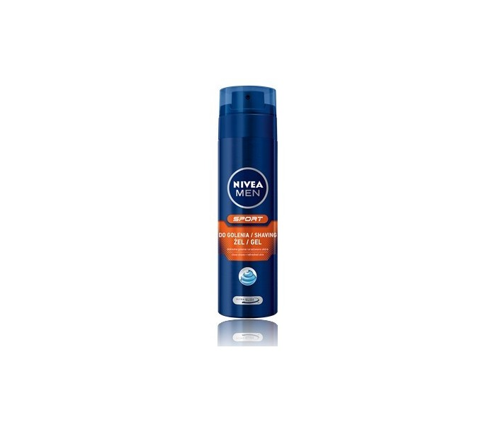 NIVEA FOR MEN Antybakteryjny Żel do golenia SILVER PROTECT 200ml
