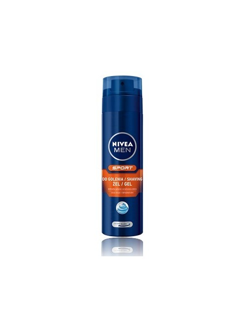 NIVEA FOR MEN Pobudzający Żel do golenia SPORT 200ml