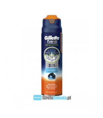 Żel Gillette Fusion Proglide Sensitive Ocean Breeze